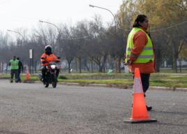 Controles de tránsito para que se cumpla el aislamiento social preventivo y obligatorio