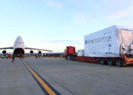 El Satélite SAOCOM 1B parte este sábado desde Bariloche hacia EEUU