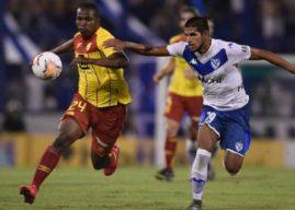 Vélez pasó de ronda en la Sudamericana eliminando a Aucas