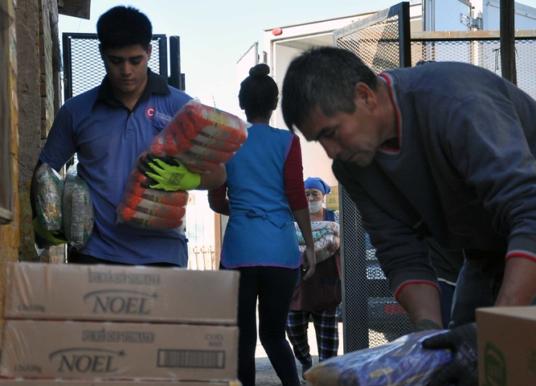 Aumentaron un 30% la provisión de alimentos a comedores y familias particulares