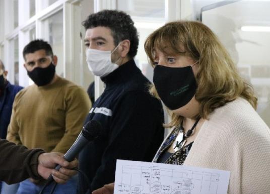 Trabajan en el plan de regreso a las escuelas rionegrinas