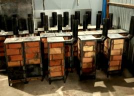 Instalan estufas en el barrio Obrero y Martín Fierro