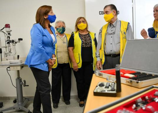 Nuevo Centro Oftalmológico en el hospital de Catriel