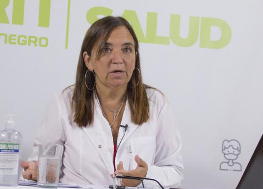 Notable baja de casos de COVID-19 en Río Negro