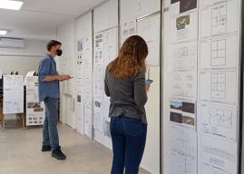 Analizan un nuevo prototipo de vivienda para Construyendo Juntos